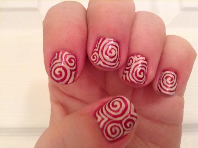 Raspberry White Chocolate Swirl