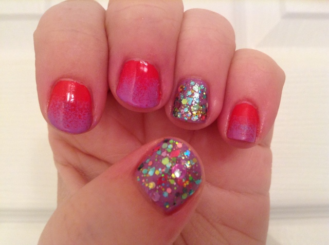 Glitter and Gradients