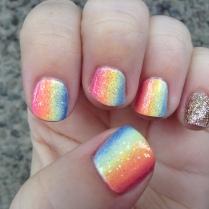 Vertical Rainbow Gradient