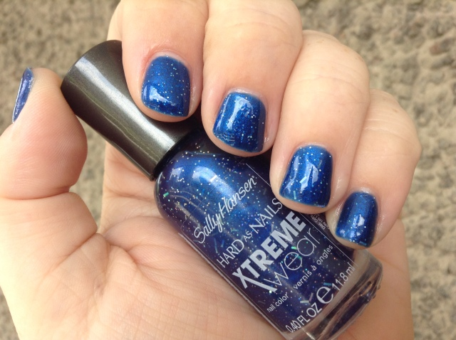 Blue Boom Bottle