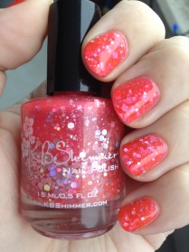KB Shimmer's Belle of the Mall: Iced Hawaiian Punch