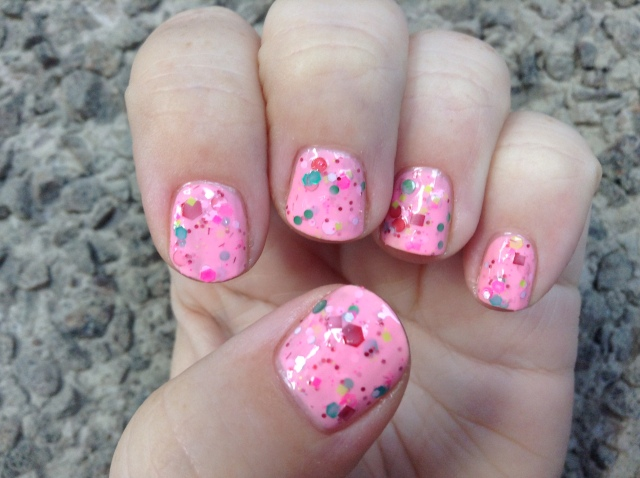 Merry Pinkmas Hand