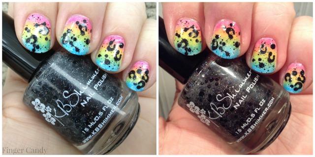 Rainbow Leopard Collage