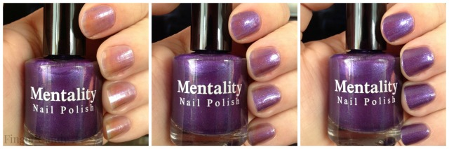 Purple Glaze Collage