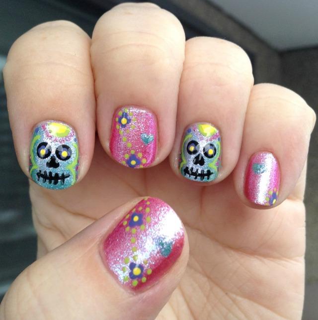 Sugar Skulls Hand