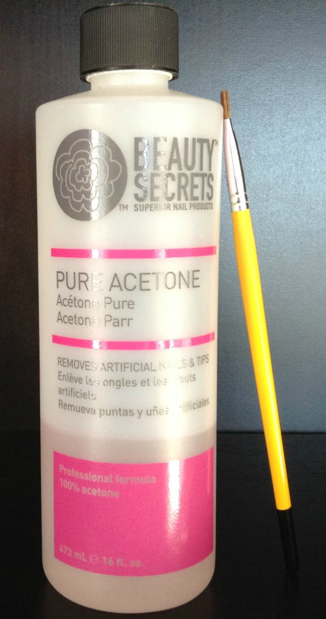 Acetone and Brush Photo