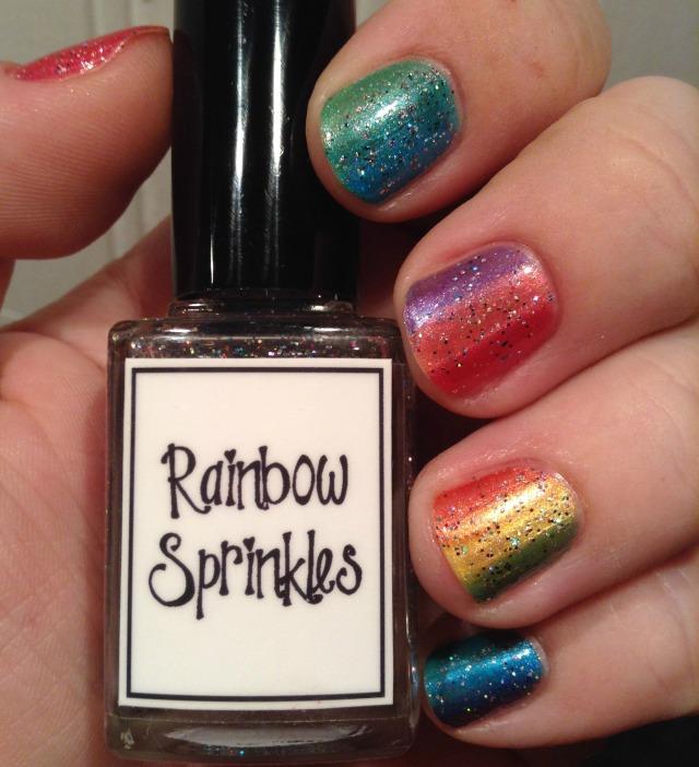 Double Rainbow Bottle