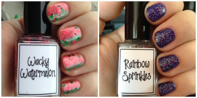 Watermelon Sprinkles Collage