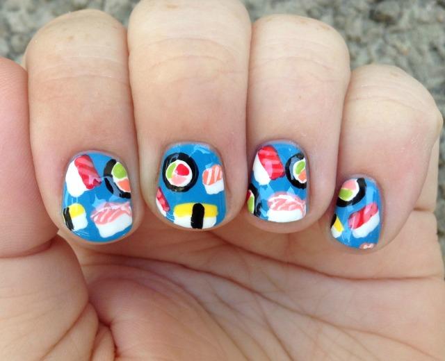 Nail Sushi Fingers