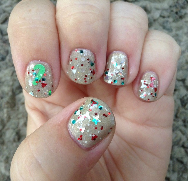 Candy Cane Forest Hand