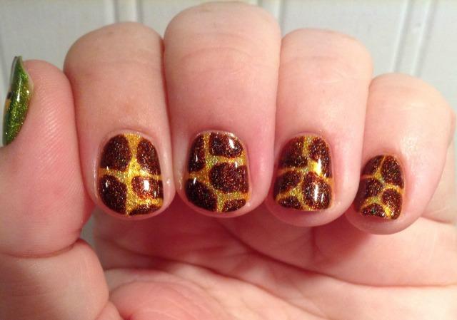 Holo Giraffe Fingers