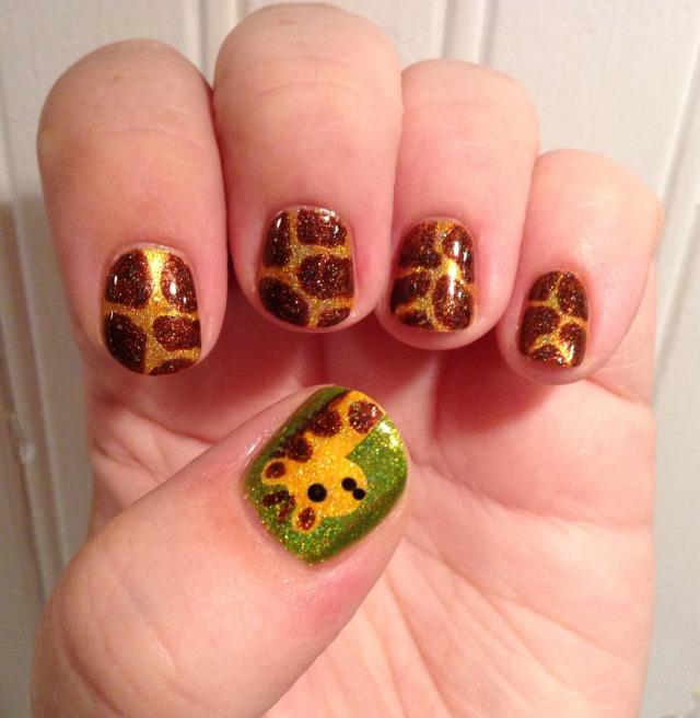 Holo Giraffe Hand