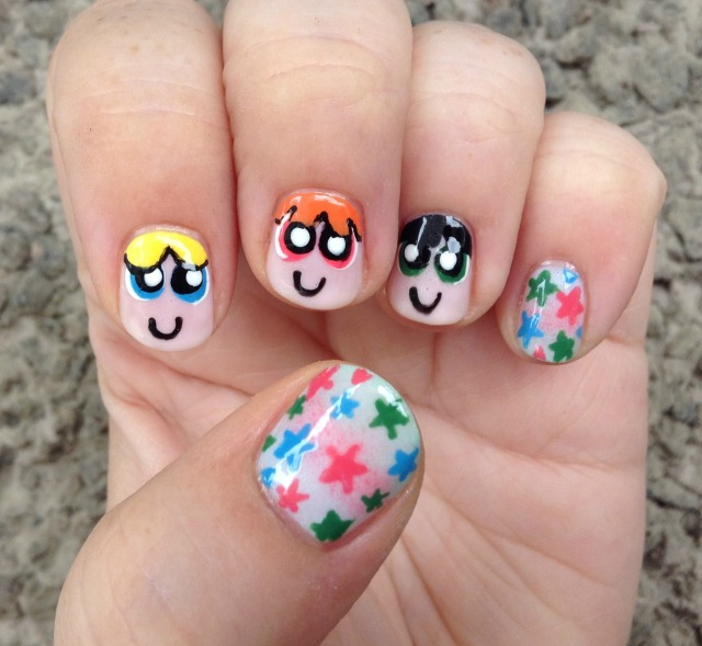 Powerpuff Girls Hand