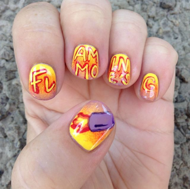 Flaming Moe's Hand