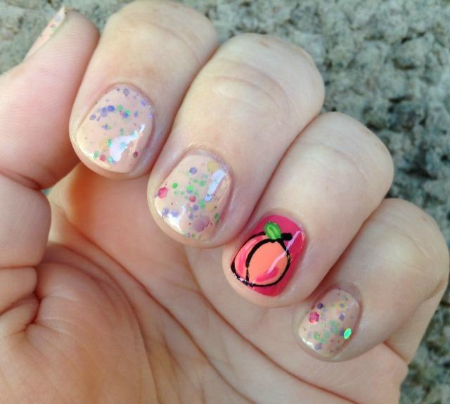 Peach Fingers