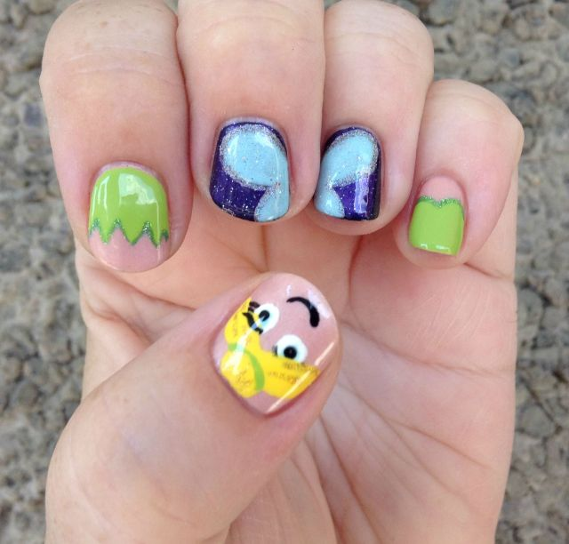 Peter Pan Nails: Finger Candy