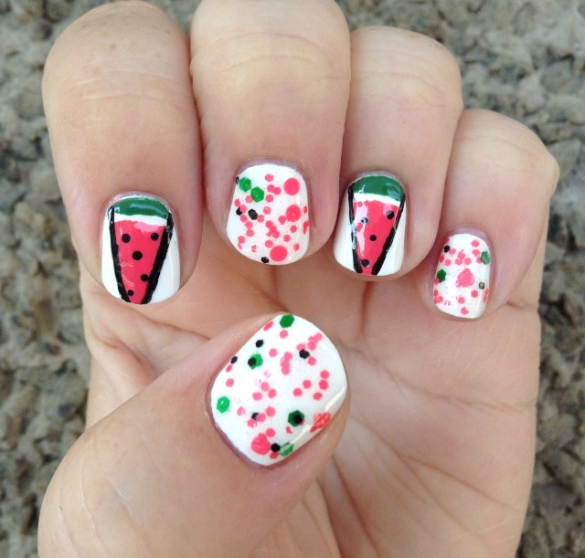 Watermelon Wedges Hand