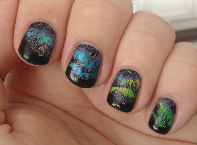 Aurora Borealis Fingers