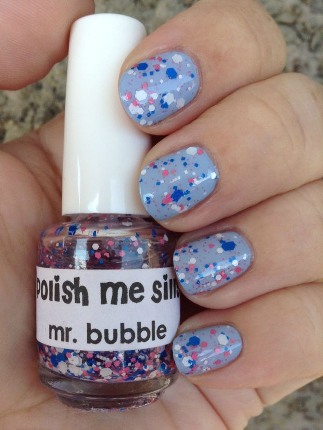Bubble Polish Bottle