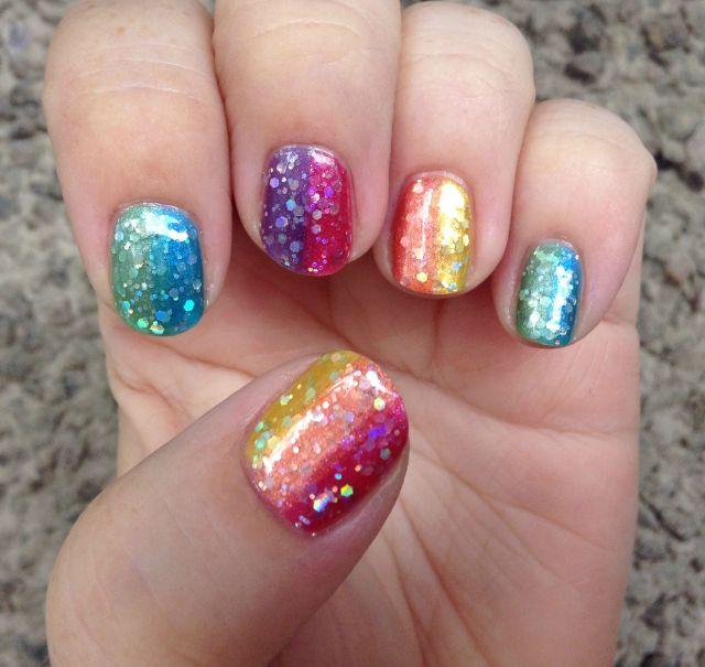 Double Rainbow Hand