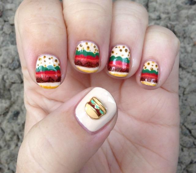 Burger Time Hand