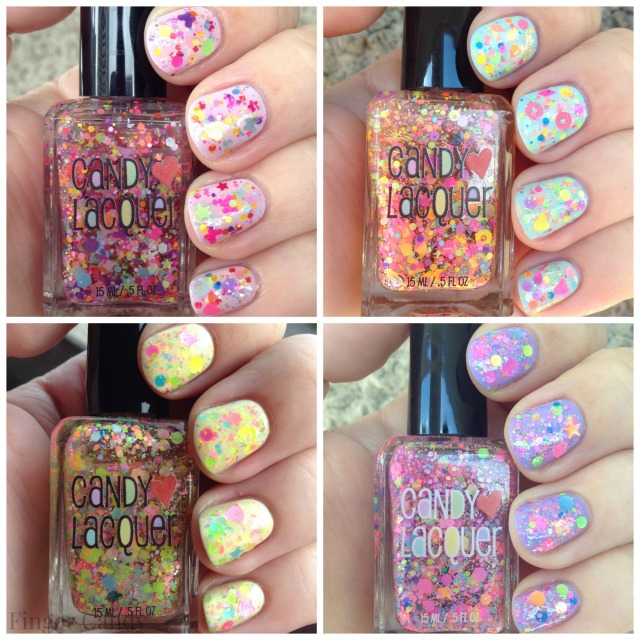 Candy Lacquer Collage