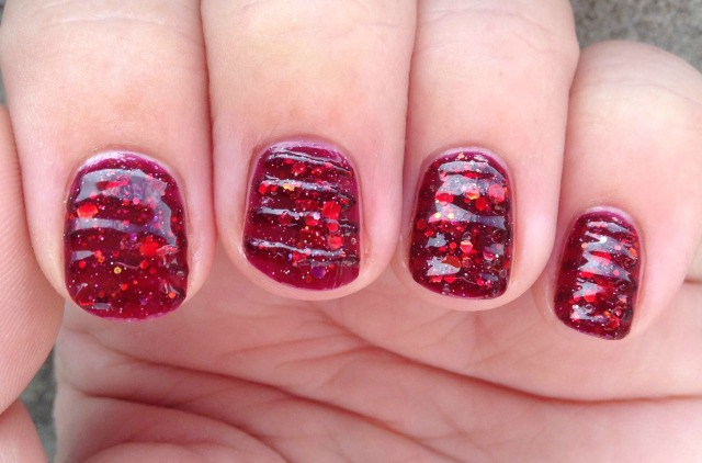 Cranberry Jelly Fingers