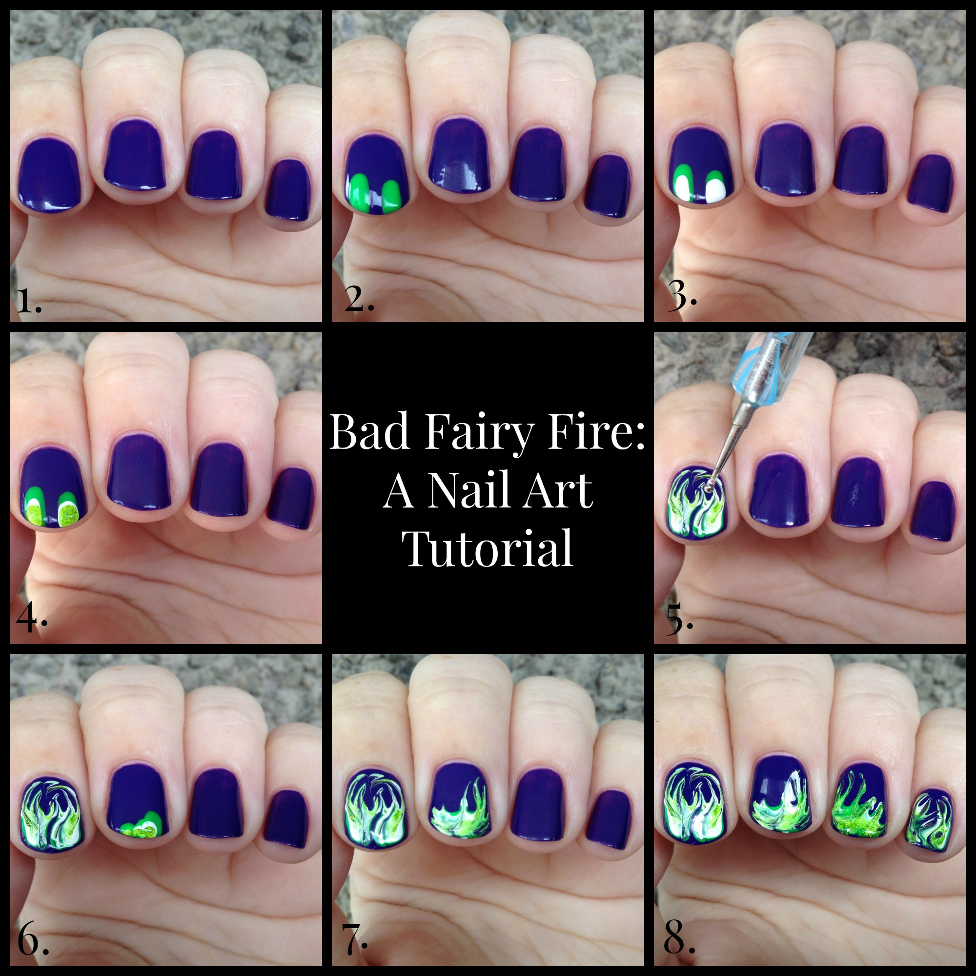 Bad Fairy Fire A Tutorial Finger Candy