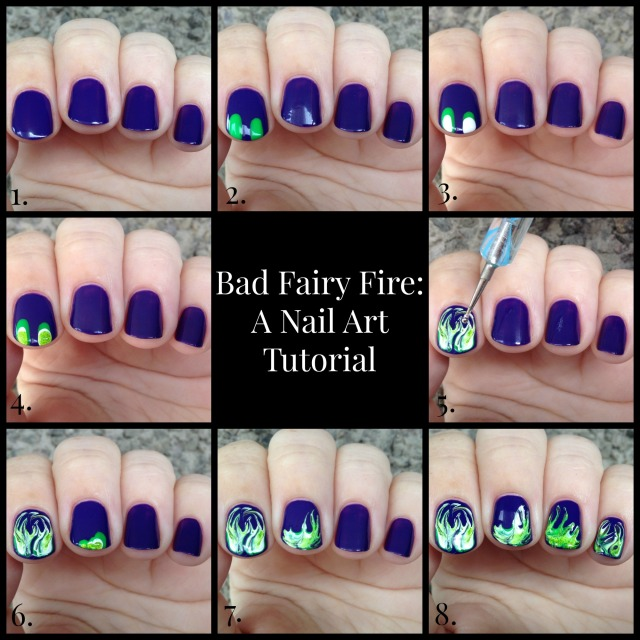 Fairy Fire Tutorial Collage