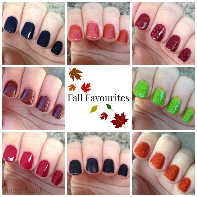 Fall Favourites Collage