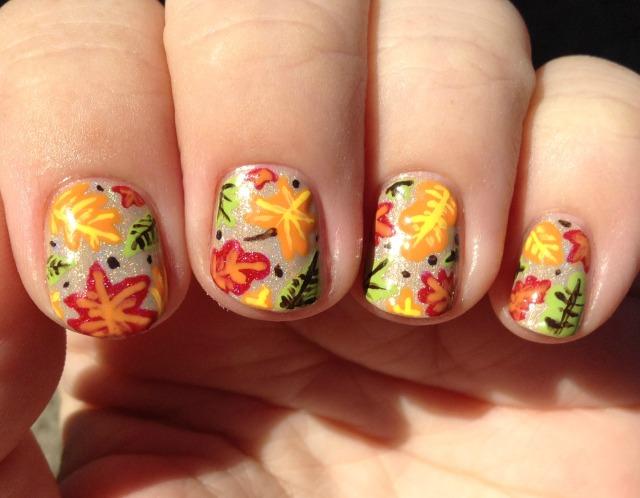 Leaf Me Be Sun Fingers