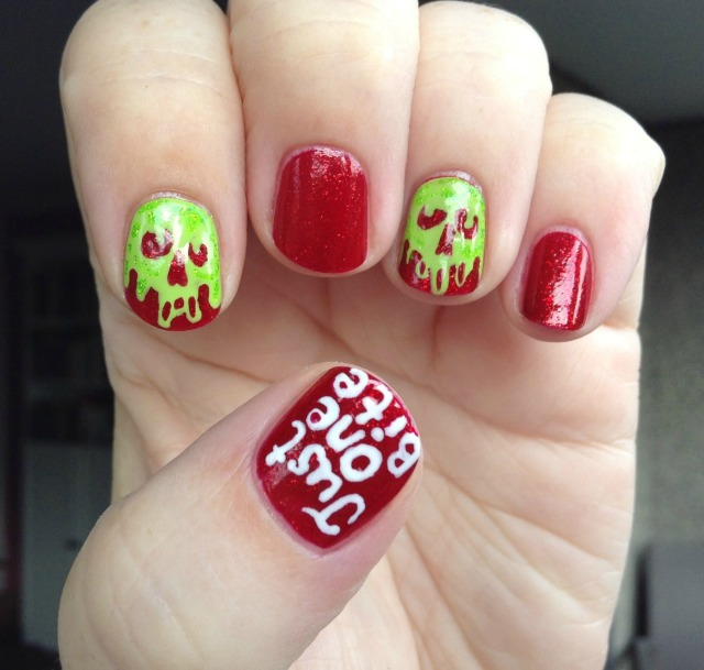 Poison Apple Hand