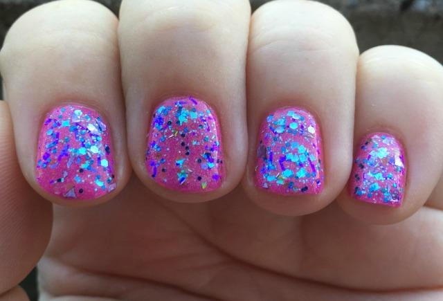 Frozen Fractals Fingers
