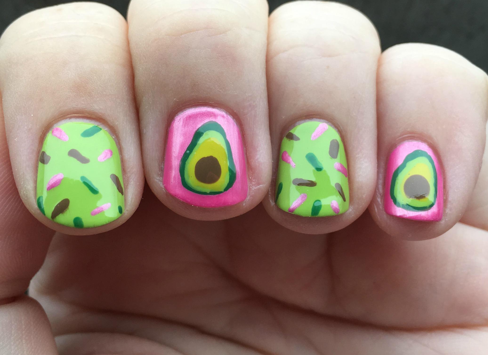 Guacamonut Fingers