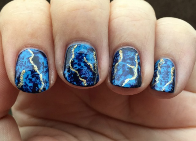 Marbled Fingers