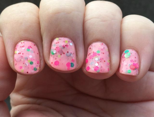 Pinkmas fingers