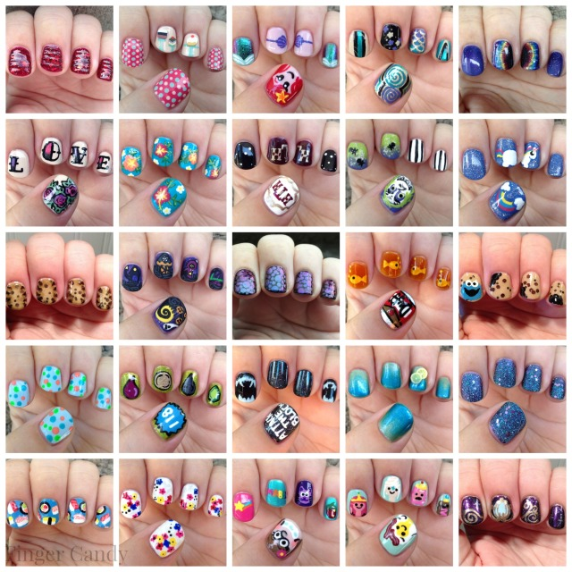 Best Nail Art of the Year Collage