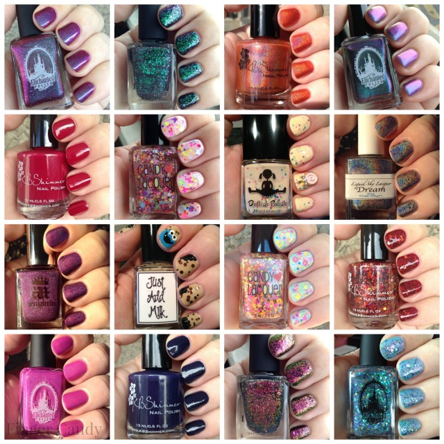 Best Polishes of 2015 Collage