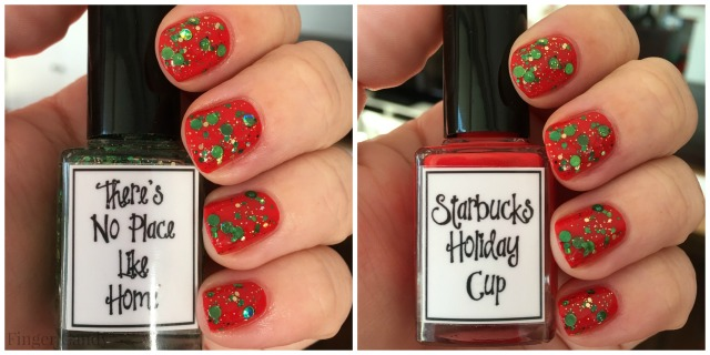 Holiday Cup Collage