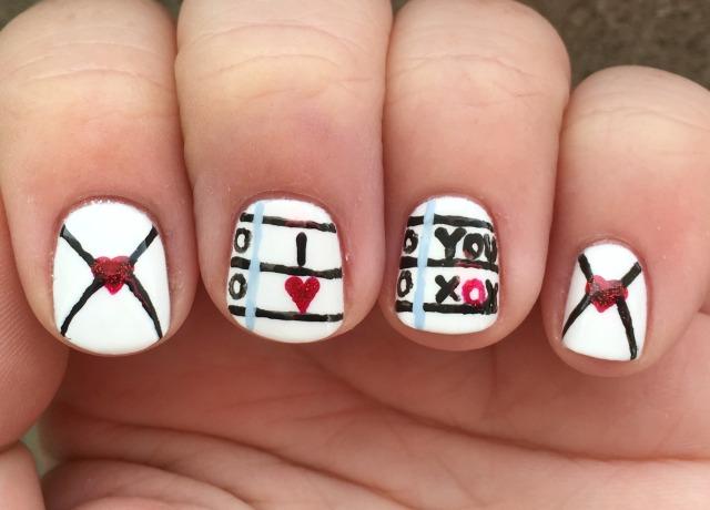 Love Letter fingers