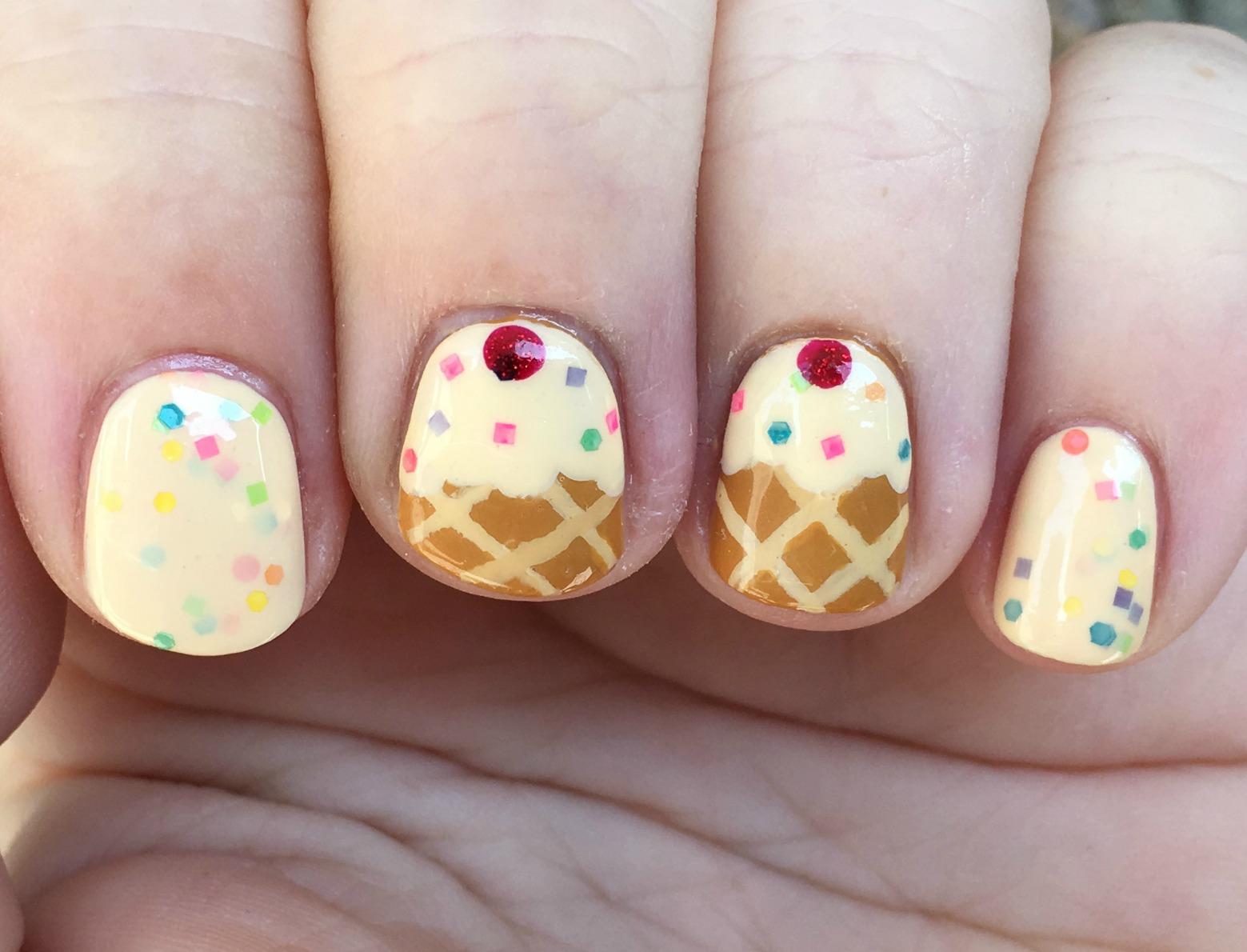Custard Cone Fingers