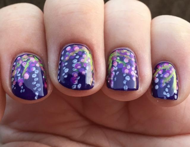 Monet fingers