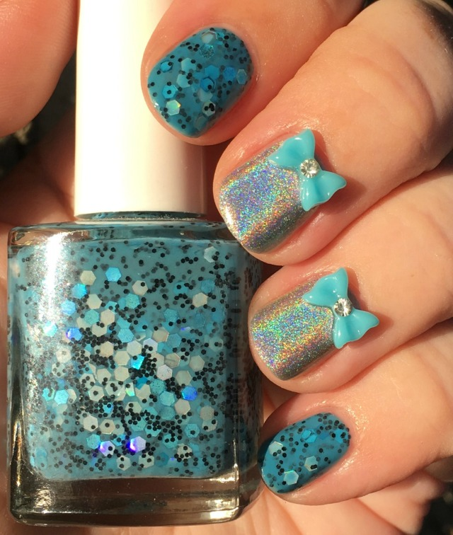 Holo Blues Bottle Again