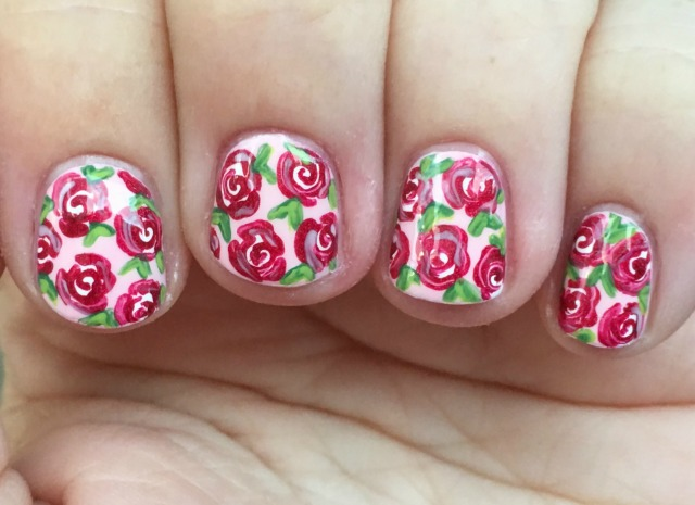 Red Roses Fingers