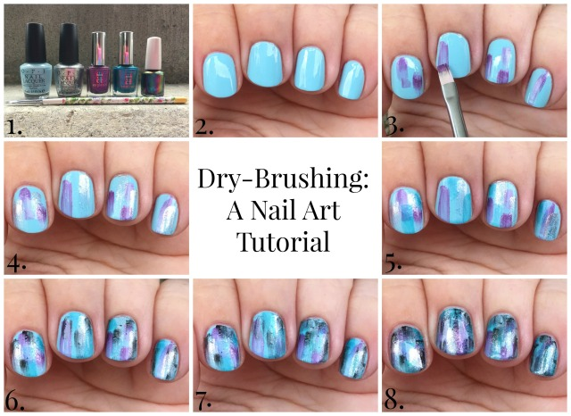 dry-brushing-tutorial-collage