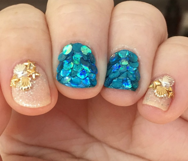 Marvelous Mermaid Fingers