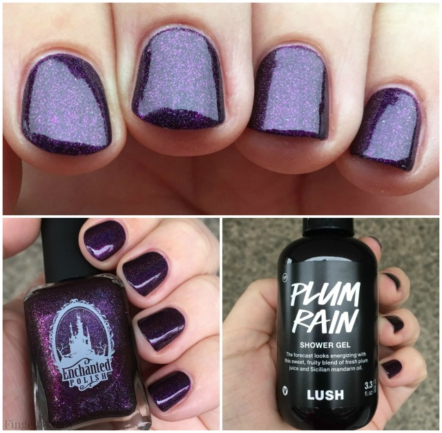 Plum Rain Collage