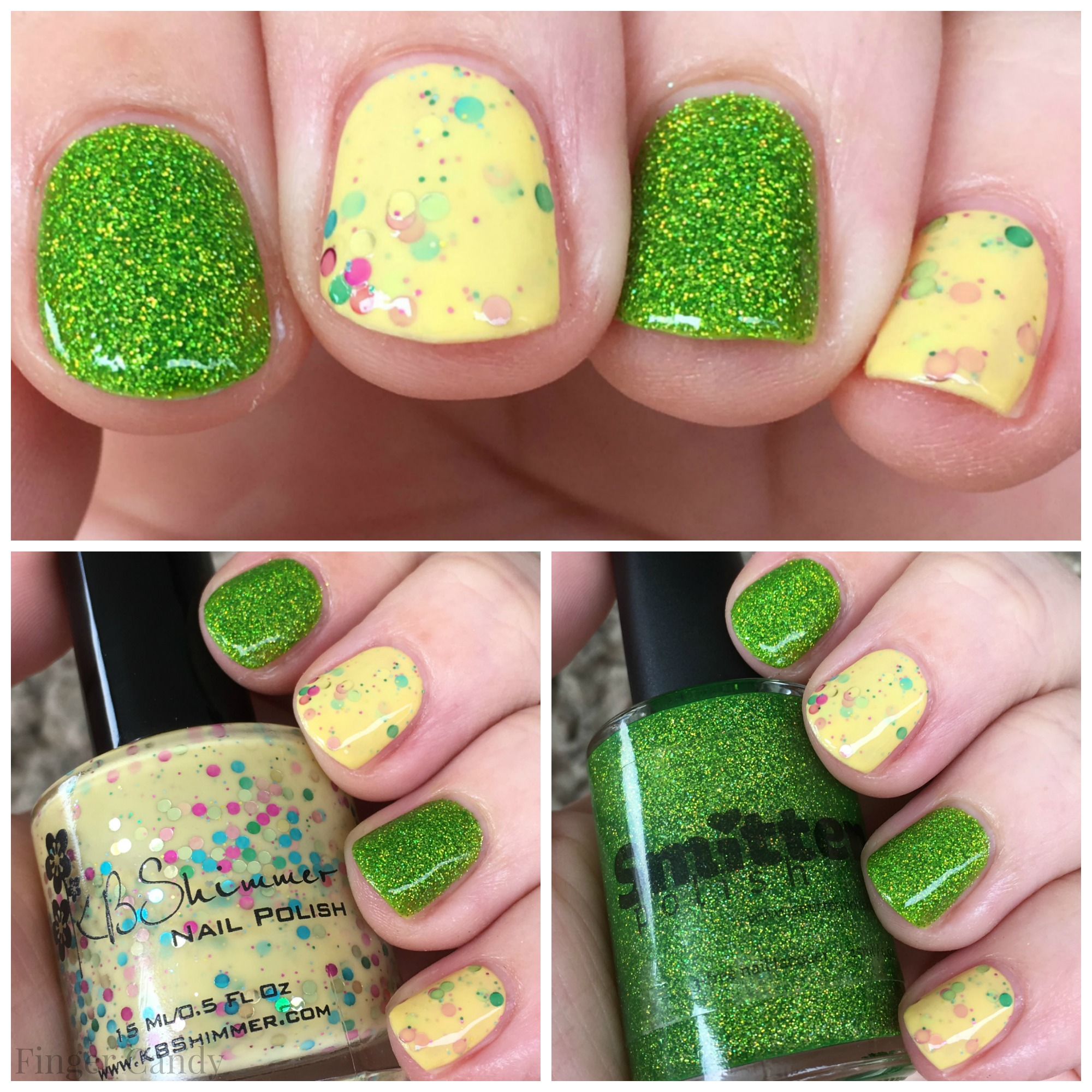 Spring Collage Nails 2