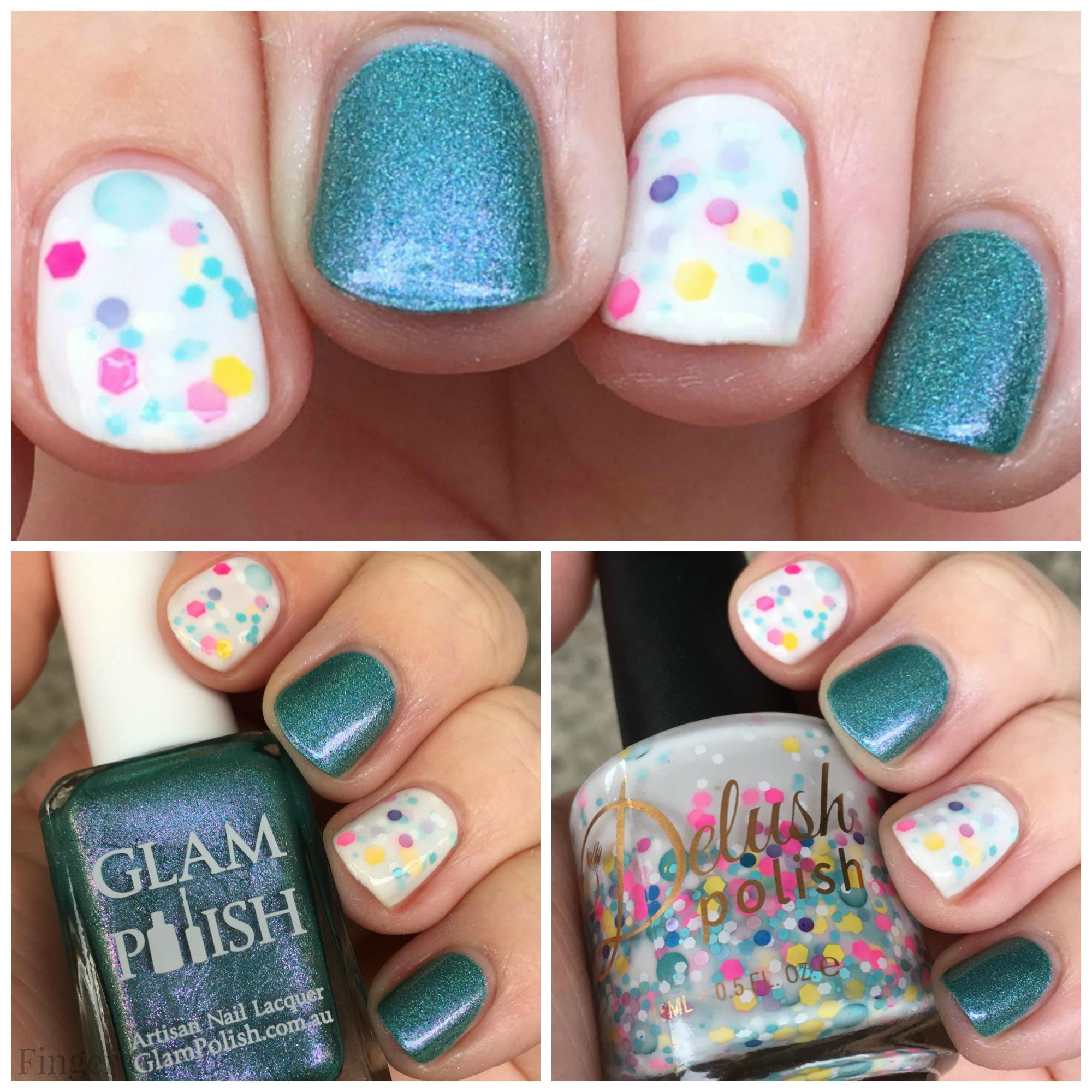 Spring Nail Collage 3