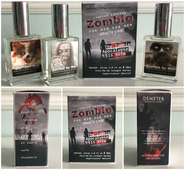 Demeter Zombie Collage